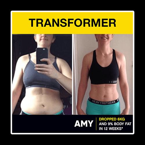 Transformer: Amy